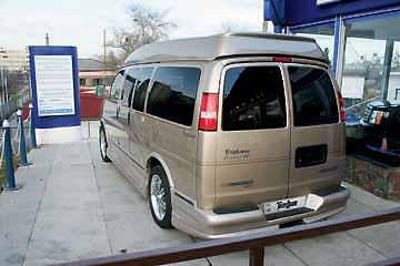 Chevrolet Express Explorer Limited SE | Тест Драйв