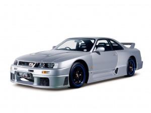 Nissan Skyline GT-R LM 1995 года доработанный Nismo