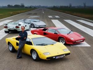 Валентино Бальбони -один из разработчиков Lamborghini Countach