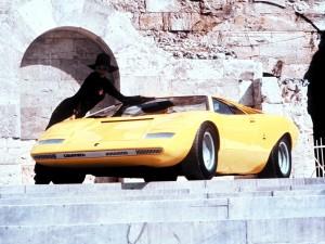 Концепт-кар Lamborghini Countach, 1971 год