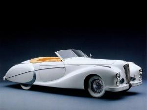 Delahaye 135M Cabriolet 1947 года
