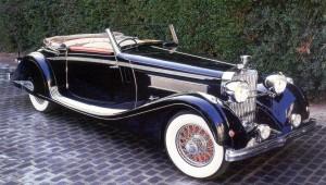 Hispano-Suiza K6 Cabriolet 1935 года