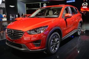Обновленный Mazda CX-5, передняя диагональ