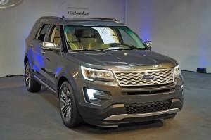 Обновленный Ford Explorer, вид спереди