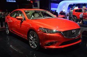 Обновленный Mazda 6, передняя диагональ