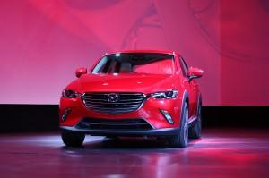 Новый Mazda CX-3, вид спереди