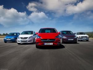 Фото Opel Corsa история