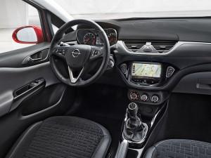 Фото Opel Corsa E вид на переднюю панель