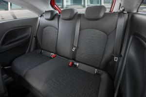 Фото Opel |Corsa 2014 вид на задние сиденья