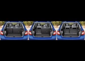 Фото  обновленной Skoda Fabia. вид на багажник