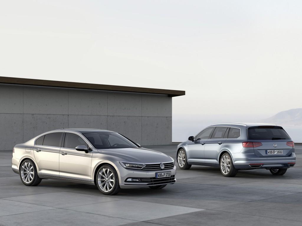 фото нового Volkswagen Passat В8 внешний вид