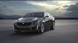 Cadillac CTS-V 2015, вид спереди