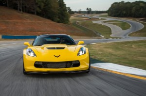 Chevrolet Corvette Stingray Z06 2014 вид спереди