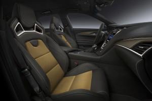 Cadillac CTS-V, передние сиденья