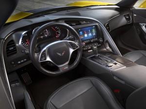 Chevrolet Corvette Z06, вид на переднюю панель