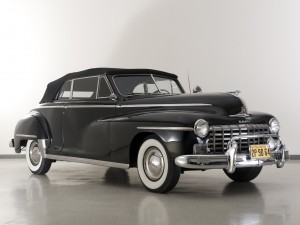 Dodge Custom Convertible 1948 года