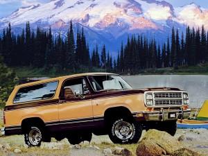 Dodge Ramcharger 1979 года