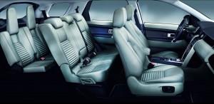 Новый Land Rover Discovery Sport, задние сиденья