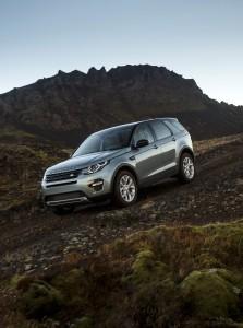 Land Rover Discovery Sport, вид на переднюю диагональ
