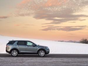 Новый Land Rover Discovery Sport, вид сбоку