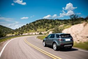 Land Rover Discovery Sport, вид на заднюю панель