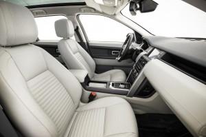Land Rover Discovery Sport 2014, передние сиденья