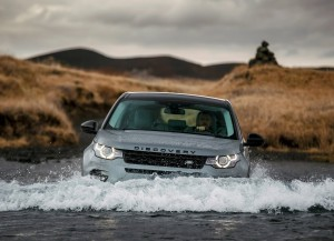 Land Rover Discovery Sport 2014 на бездорожье