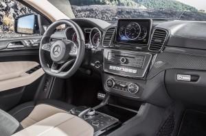 Новый Mercedes-Benz GLE Coupe, передняя панель