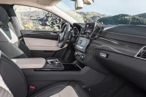 Mercedes-Benz GLE Coupe, передние сиденья