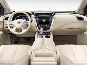 Nissan Murano, вид на переднюю панель