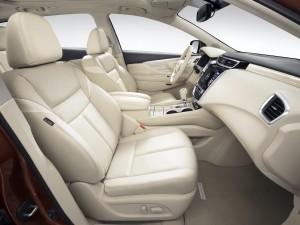 Nissan Murano 2014, передние сиденья