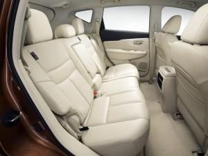 Новый Nissan Murano, задние сиденья