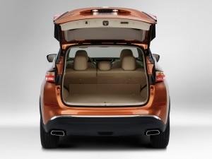 Nissan Murano, багажник