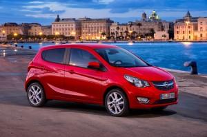 Новый Opel Karl, вид на переднюю диагональ