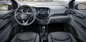 Opel Karl, передняя панель