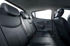 Opel Karl 2014, задние сиденья