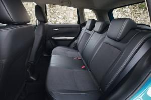 Suzuki Vitara 2014, задние сиденья