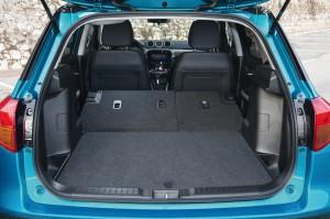 Новый Suzuki Vitara, багажник