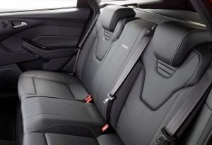 Ford Focus ST, задние сиденья