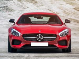 Mercedes-AMG GT 2015, вид спереди