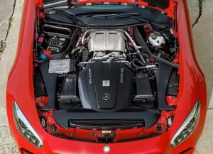 Новый Mercedes-AMG GT, двигатель