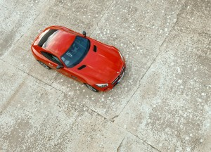 Mercedes-AMG GT, вид сверху