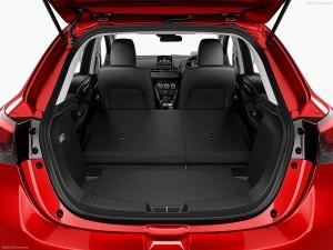 Новый Mazda 2, багажник