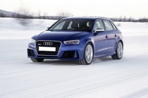 Audi RS3 2015, вид на переднюю диагональ