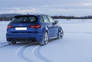 Audi RS3, вид сзади