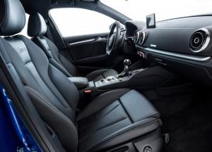 Новый Audi RS3, передние сиденья