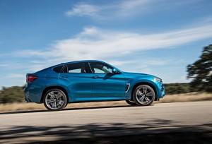 BMW X6 M 2015, вид сбоку