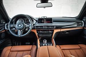 Новый BMW X6 M, передняя панель
