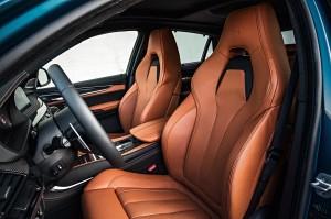BMW X6 M, передние сиденья
