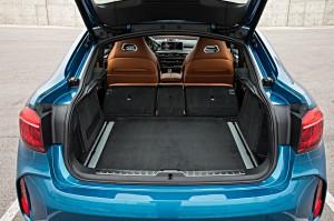 BMW X6 M, багажник